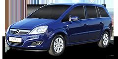 Zafira (A-H/Monocab/Facelift) 2008 - 2014